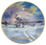 Davenport Wings of Fame December Hurrican Force Wilfred Hardy Hawker Hurricane 15cm plate CP1726