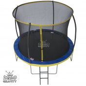 3m Zero Gravity Ultima 4 High Spec Trampoline with Safety Enclosure Netting and Ladder