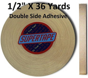 Supertape 1.3cm X 36 yard roll Double side adhesive