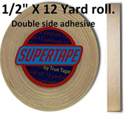 Supertape 1.3cm X 12 yard roll Double side adhesive