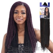 Freetress Senegalese Twist Braid Black Colour 1B use with Latch Hook Crochet ...