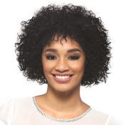 Vivica A Fox Hair Collection Spring Pure Stretch Cap, Premium Remi Human Hair Wig in Colour, Natural, 270ml