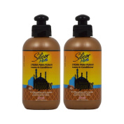 "Silicon Mix Moroccan Argan Oil Leave-In Conditioner 240ml ""Pack of 5.1cm"