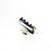 Ficcare Small Open Rectangle Jaw Clip Horn