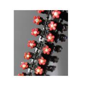 Interesting® 12Pcs Girl Lady Kids Crystal Flower Mini Hair Claw Clamp Hair Clip Hair Pin