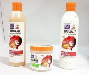 Dark n Lovely Au naturale Wash, Condition And Style Trio Set Of Products