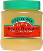 Three Flowers Brilliantine Solid - Brillantina Solida 100ml
