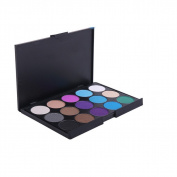 Pure Vie® Professional 15 Colours Eyeshadow Palette Makeup Contouring Kit #3 for Salon and Daily Use