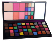 JPNK All in One Professional makeup Palette with 52 Colours Eye shadow 4 Colour Blusher 2 Colour Pressed Powder