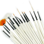 EZ Art Nail Artist's Brush Collection