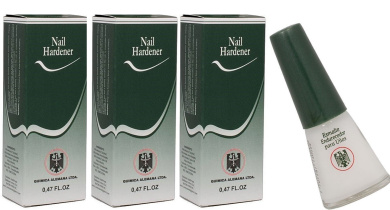 QUIMICA ALEMANA QUIMICA ALEMANA Nail Hardener greatest nail hardeners on the market! : Size 15ml (Pack of 3)