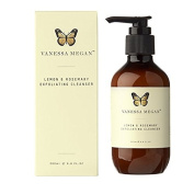 Vanessa Megan Lemon & Rosemary Exfoliating Cleanser 200ml Australian-certified Organic 100% Natural