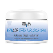Stretch Mark & Scar Removal Cream Specially Formulated with Palmitoyl Tripeptide-5, 5% Niacinamide Vitamin B3, B5, E, C - Old & New Scars Remover for Face, Back, Acne, Anti Striae - Made in USA 120ml