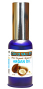 Coco Valley - Pure Organic Argan Oil For Hair, Skin, Face, Nails,Anti-Ageing, Anti Wrinkles Beauty Secret