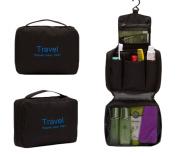 iSuperb® Hanging Travel Toiletry Bag Organiser Kit Waterproof Foldable Toiletry Cosmetic Bag for Men Women