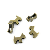 160 Pieces Jewellery Making Charms Findings Antique Bronze Brass Fashion Jewellery Wholesale Supplies Pendant Lots Bulk Supply LM092 Dog Beads