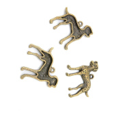 210 Pieces Jewellery Making Charms Findings Antique Bronze Brass Fashion Jewellery Wholesale Supplies Pendant Lots Bulk Supply V4LX1 Dog Dalmatians