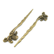 20 Pieces Jewellery Making Charms Findings Antique Bronze Brass Fashion Jewellery Wholesale Supplies Pendant Lots Bulk Supply P7YO8 Fish Hairpin Bookmark