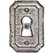 Bottle Cap Inc Antique White Knobs-Lock
