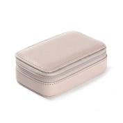 Small Zip Case - Full Grain Leather - Stone