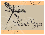 50 Playful Dragonfly Thank You Cards