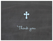 50 Modern Religious Cross Thank You Cards
