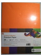 Neenah Creative Collection Premium Paper, 11kg weight, 5 solid colours, 22cm X 28cm , 25 count