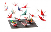 25 design World Flag Crane origami papers