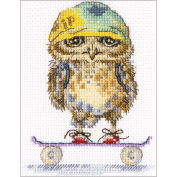 Skater Counted Cross Stitch Kit-10cm x 15cm 14 Count