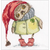 Winter Walk Counted Cross Stitch Kit-15cm x 16cm 14 Count