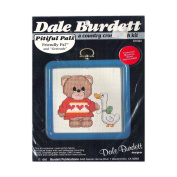 1985 Dale Burdett A Country Cross Stitch Pitiful Pals Friendly Pal and Gertrude Kit No. CK324