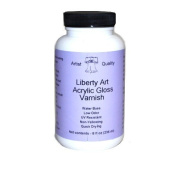 Liberty Art Brush On Gloss Varnish - Perfect substitute for JW Right Step Varnish!