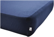 Blueberry, Super Soft, Pesticide-Free, Fitted Crib Sheet