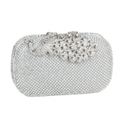Bling Peacock Clutch Purse Rhinestones Crystal Evening Clutch Bags