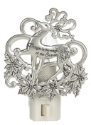 Delight in the Magic of the Season Reindeer Shade Nightlight - By Ganz