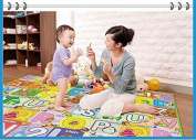 Foam Floor Baby Activity Play Mat Gym Educational Learning Padded Flying Chess