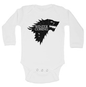 """Cute Game Of Thrones Onesie """"Winter Is Coming"""" RB Clothing Co"""