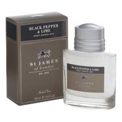 St James of London Black Pepper & Lime Post Shave Gel
