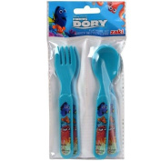 Finding Dory 4pc Fork & Spoon Set in Bag