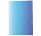 "Christian LaCroix Neon Blue B5 10"" X 7"" Ombre Paseo Notebook"