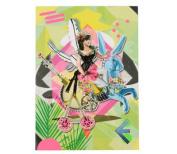 """Christian LaCroix Artemis A6 6"""" X 4.25"""" Diecut Notebook"""