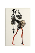 Christian LaCroix Haute Couture Diecut Boxed Notecards