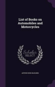 List of Books on Automobiles and Motorcycles
