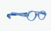Miraflex Baby Lux2 Kids Eye Glass Frames | 40/14 Dark Blue Pearl | Age:5-7