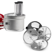 N KitchenAid KSM2FPA Food Processor Attachment with Commercial Style Dicing Kit
