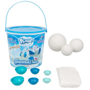 Modelling Clay - Reuseable Indoor Snow, Floof - Snowball Maker With 7 Pieces.