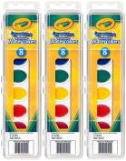 Crayola Watercolour Paints Washable 8 Primary Colours