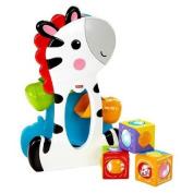 Fisher-Price Roller Blocks Tumblin' Zebra For  .   and Up