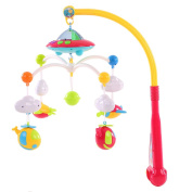 Goolsky Baby Bed Bell Musical Mobile Crib Dreamful Bed Ring Hanging Rotate Bell Rattle Intelligence Educational Toy