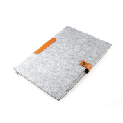 Parblo PR-12 Wool Liner Bag Sleeve Case Cover Carrying Bag for 25cm Devices Grey Tablet Graphic Drawing Monitor